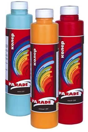 Для колеровки в д краски 22 цвета